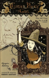 Cursed Pirate Girl #1 (of 3), third printing, available online from Olympian Publishing.