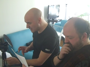 Grant Morrison and Dave McKean reading Cursed Pirate Girl